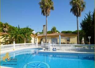 6 Schlafzimmer, Villa, zu verkaufen, 4 Badezimmer, Listing ID 1129, Chiclana de la Frontera - Novo Sancti Petri, Andalusien, Spanien, 11130,